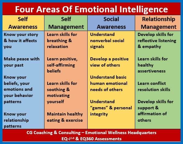 four areas of EI