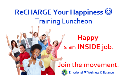ReCHARGE Your Happiness Lunch & Learn